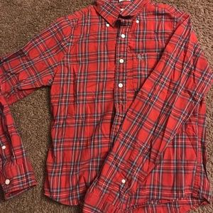 Abercrombie & Fitch long sleeve flannel button up.